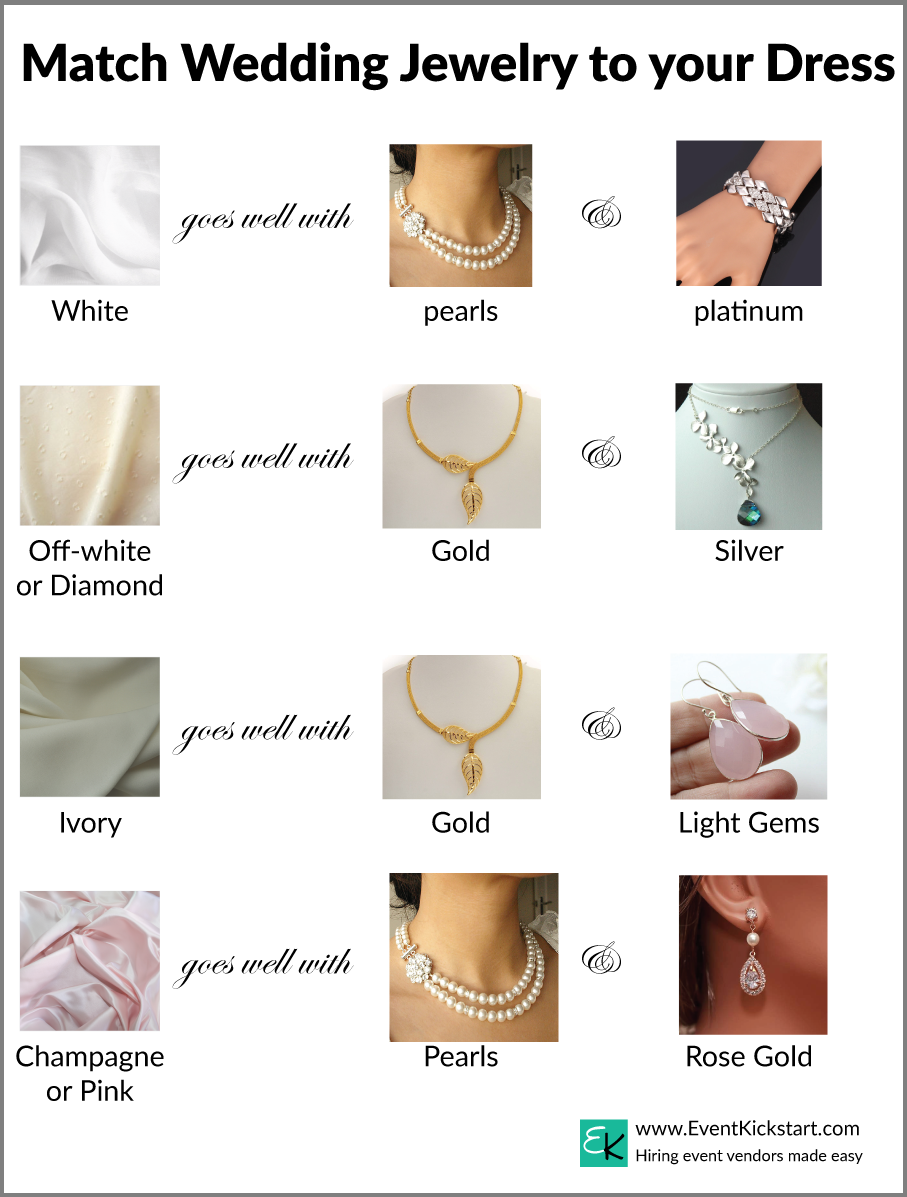 What color jewelry goes with rose gold dress style guru for What color goes with gold and white