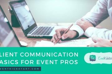client communication event pros