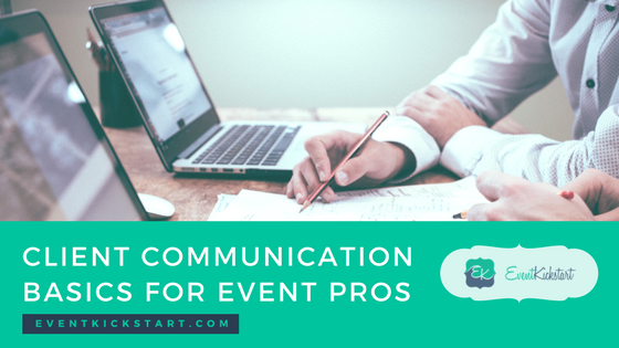 client communication event pros