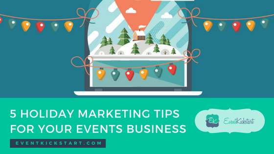 holiday marketing events business